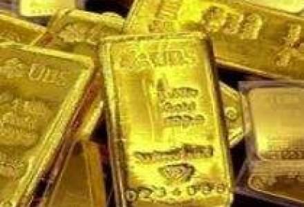 Criza reduce cererea de paladiu si platina si o ridica pe cea de aur