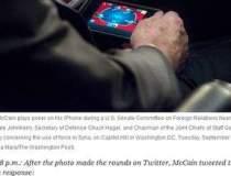 Senatorul John McCain,...