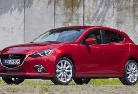 Mazda3 ajunge in Romania in octombrie. Afla cat costa