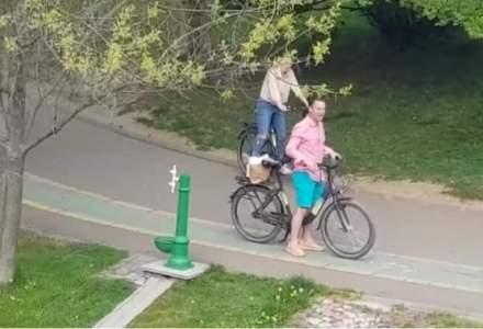 Primarul sectorului 3, amendat cu 10.000 de lei, după ce s-a plimbat cu bicicleta prin parc în ziua de Paști