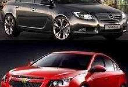Opel Insignia si Chevrolet Cruze, lansarile GM in Romania anul viitor