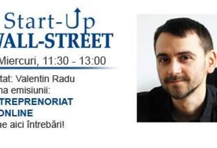 Valentin Radu, de la RCA Ieftin si Marketizator, vine la Start-Up Wall-Street