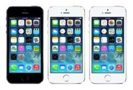 Apple a lansat iPhone 5S si iPhone 5C: compania introduce in premiera amprentarea digitala [FOTO]