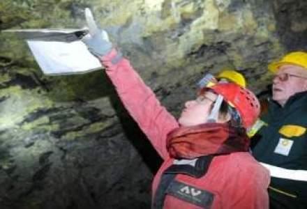 Protest la Rosia Montana: mineri de la RMGC si localnici cer aprobarea proiectului minier