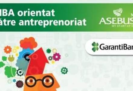 Garanti Bank a lansat un credit de studii pentru programul MBA ASEBUSS