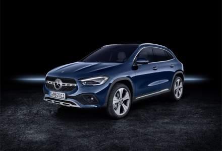 Noul Mercedes-Benz GLA a ajuns în România. Va avea o versiune plug-in hybrid și una electrică