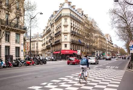 Autoritățile din Paris fac benzi de biciclete temporare, ca o alternativă la metrou