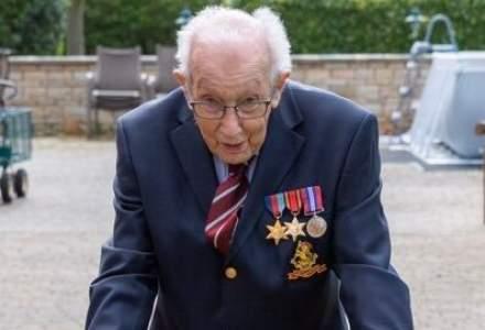 Tom Moore, un veteran de război din Marea Britanie, a strâns peste 28 de milioane de lire sterline pentru medici