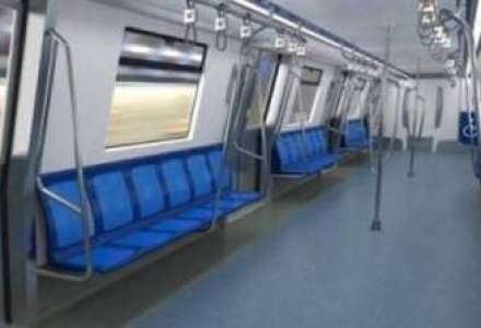 Cum arata cele mai noi garnituri de metrou achizitionate de Metrorex [FOTO]