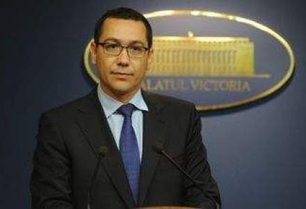 Ponta e de acord ca Parlamentul sa pastreze din legea Rosia Montana doar majorarea redeventei la 6%