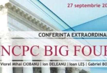 (P)JURIDICE.ro va invita la conferinta extraordinara NCPC BIG FOUR!
