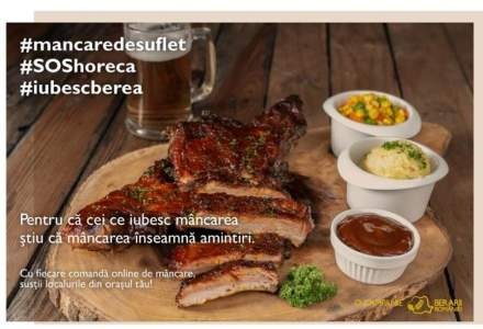 Berarii României lansează #MancareDeSuflet #SOSHoReCa, campania de susținere a sectorului HoReCa, afectat de criza Covid-19