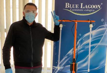 Compania românescă Blue Lagoon Clean a început producția unor echipamente de lămpi UVC împotriva virusurilor și bacteriilor