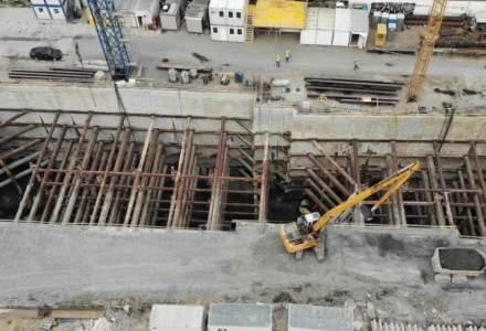 """Maurer Imobiliare ridică un """"zgârie-nor"""" de 23 etaje în Cluj. Cum se lucrează pe șantier în perioada COVID-19"""