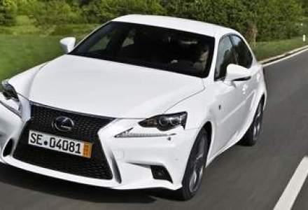 Noul Lexus IS a fost lansat in Romania. Afla preturile