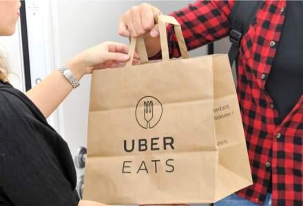 Adio comenzi de mâncare cu Uber în România. Uber Eats își încetează activitatea