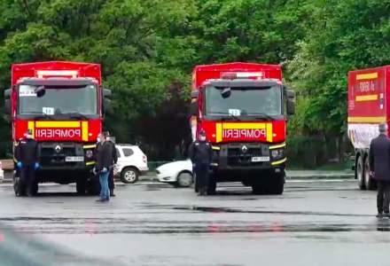 Un convoi de 20 de camioane cu echipamente sanitare va pleca din Bucureşti spre Chişinău