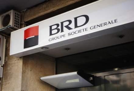 Profitul net al Grupului BRD a scăzut cu 22% în primul trimestru