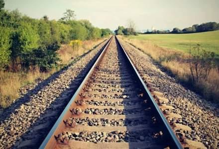 Linia de cale ferată dintre aeroport şi Gara de Nord, gata la sfârşitul lunii august