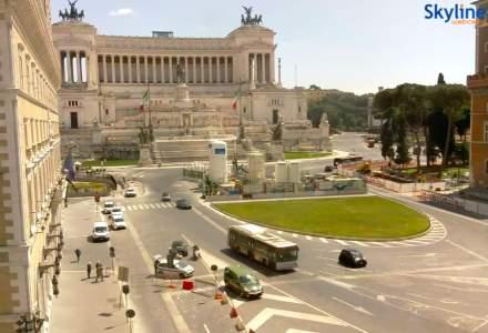 Cum arată străzile din Italia după ridicarea parțială a restricțiilor
