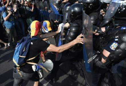 Conturile Jandarmeriei București au fost poprite, după ce a pierdut procesele cu protestatarii