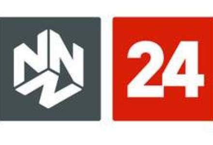 Postul N24, prima victima a crizei economice pe piata TV locala