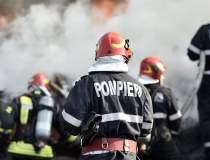 Incendiu în București pe o...