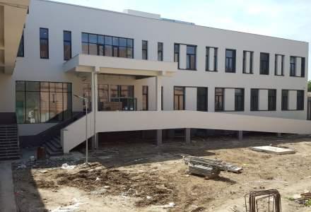 Noul spital din Lipova, Arad, va fi gata până la finalul lunii mai