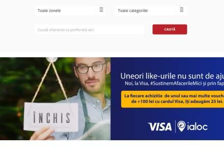 Visa se alătură campaniei de solidaritate inițiate de Beans&Dots și Ialoc.ro cu o contribuție de 250.000 lei