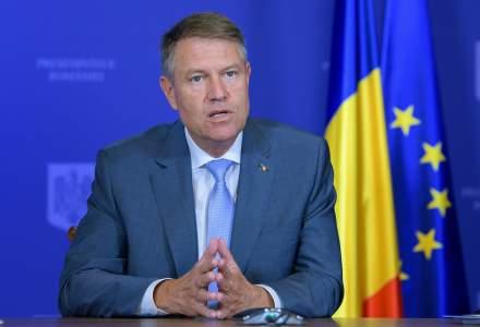Klaus Iohannis a sesizat CCR cu privire la legea care permite desfășurarea învățământului online