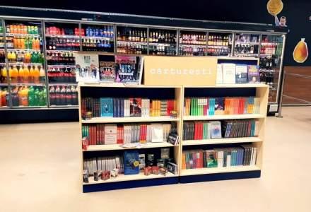 Cărturești și Mega Image extind parteneriatul și amplasează noi insule cu cărți în magazinele din țară ale retailerului