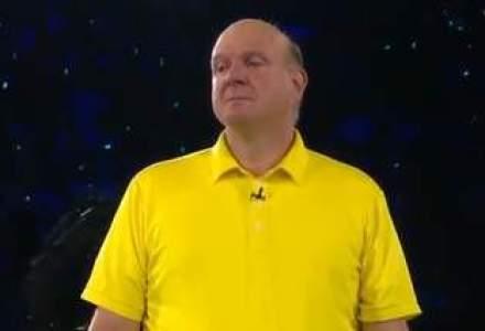 Bonusul sefului Microsoft, taiat la jumatate: ce obiectiv a ratat Steve Ballmer