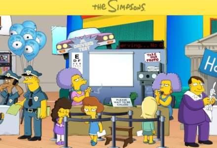 Familia Simpsons, cel mai longeviv serial de desene animate din SUA, continua cu un nou sezon