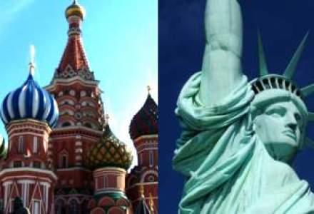 INFOGRAFIC. America vs. Rusia Corporate: Gazprom sau Exxon?