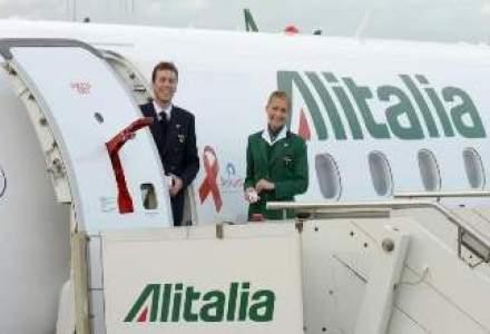 Alitalia si-a asigurat fonduri de salvare de 500 mil. euro de la actionari, banci si posta