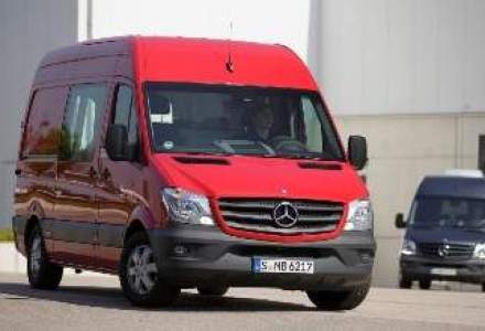 Noul Mercedes-Benz Sprinter a fost lansat in Romania. Afla cat costa