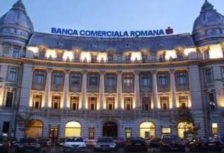 Dupa renuntarea la euro, soldul creditelor in lei acordate de BCR pentru investitii imobiliare a crescut de 2,5 ori
