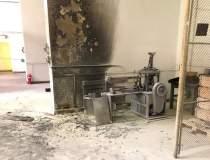 FOTO: Explozie la Uzina...