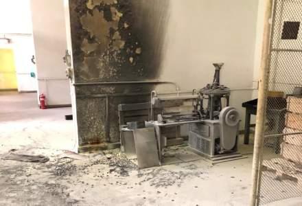 Explozie la fabrica de armament Cugir. Doi răniți, a fost chemat elicopterul SMURD