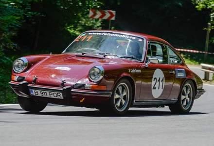 Centrul Porsche Bucuresti are expus un 911 vechi de 40 de ani