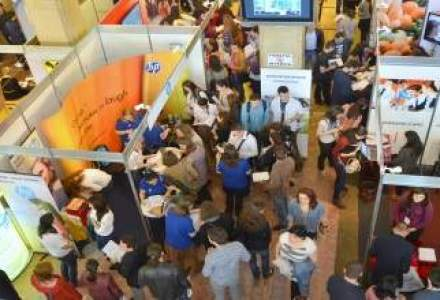 (P)Angajatori de TOP: 90 de companii participante, 3300 de pozitii deschise, 15.000 de profesionisti si studenti!
