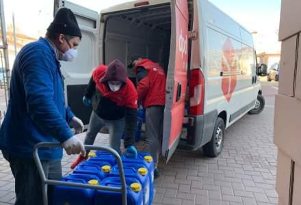 (P) 140 de spitale din România, aprovizionate gratuit cu 7,5 tone de echipamente de protecţie, de firma de curierat DPD România