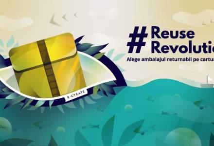 Start-upul R-CREATE a lansat un ambalaj returnabil pentru industria comerţului online, care intră în teste la Cărtureşti și FAN Courier