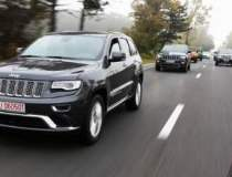 Test cu Grand Cherokee...
