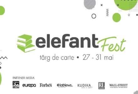 50 de evenimente de lansare în 5 zile| elefant.ro dă startul elefantfest, târg de carte online