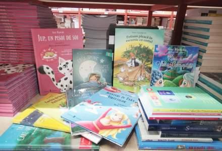 Libris.ro: Vânzări cu 81% mai mari la cartea pentru copii după închiderea școlilor