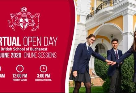 (P) British School of Bucharest se adaptează și organizează în premieră VIRTUAL OPEN DAY