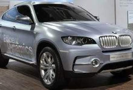 BMW lanseaza in Romania modelul X6 ActiveHybrid in a doua jumatate din 2009