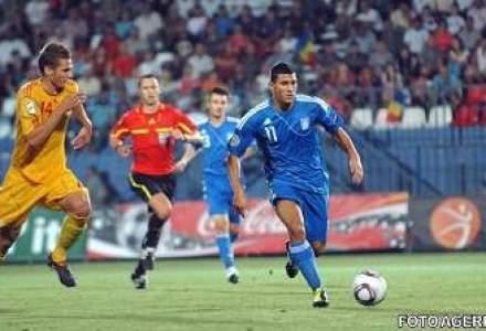 Romania va juca impotriva Greciei pentru calificarea la Campionatul Mondial de Fotbal