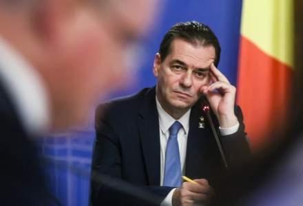 Guvern: Premierul Orban a plătit două amenzi pentru fumat şi nepurtarea măştii în spaţii închise